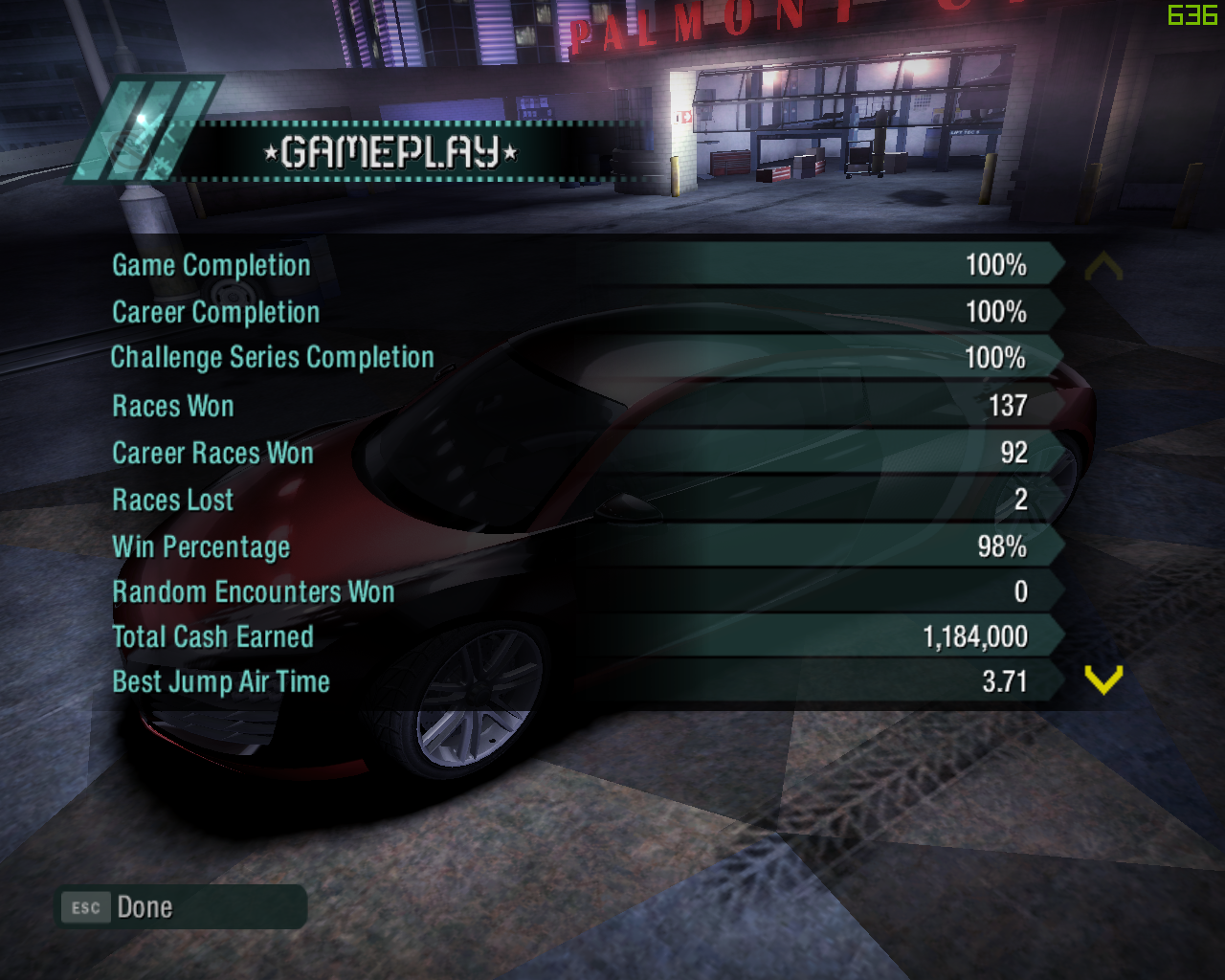 Pc Need For Speed Carbon 100 Game Save Save Game File Download